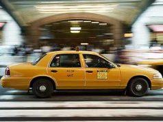 trabajar de conductor de taxi