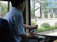 trabajar de conductor de autobus