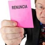 """Hacer carta de """"RENUNCIA Y AGRADECIMIENTO"""""""