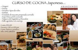 curso comida japonesa