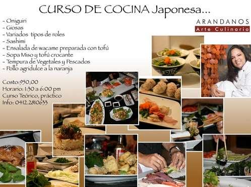 Nuevo curso de cocina japonesa online gratis for Donde estudiar cocina