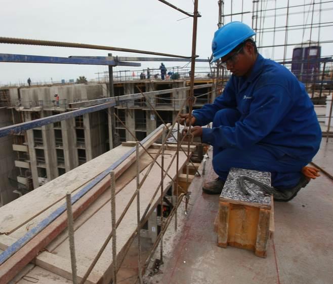 puestos en la construcción