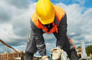 trabajo de construcción