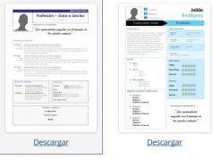 plantillas curriculum para word 2015 descargar