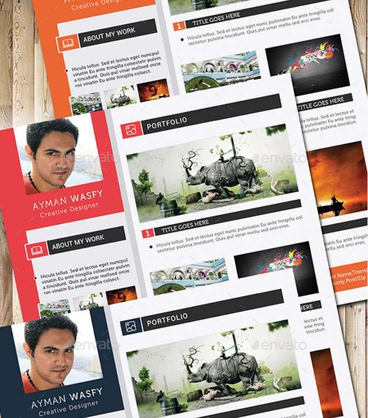 Plantilla juvenil y colorida - curriculumsvitae.net