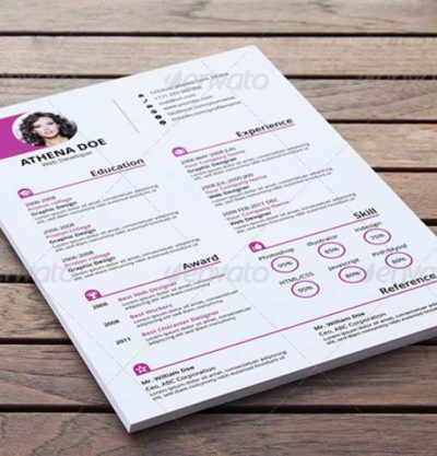 Clean Resume & Cover Letter With MS Word by rongmistiry _ GraphicRiver-37-40