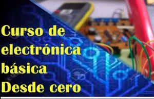 Curso gratis de electrónica