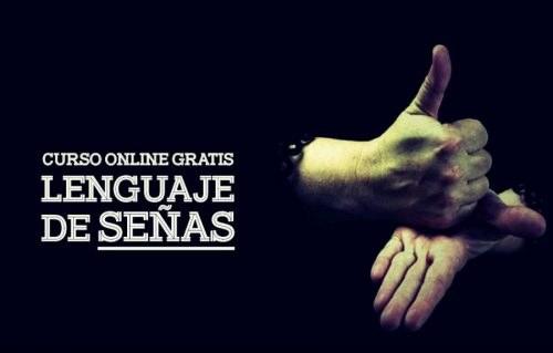 Curso gratis de LENGUAJE de señas