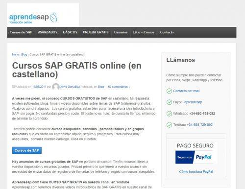 Aprender SAP gratis