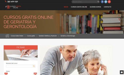Curso gratis de geriatría