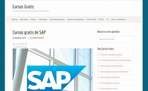 SAP de cursos gratis