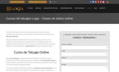 Curso gratis de tatuajes Logia